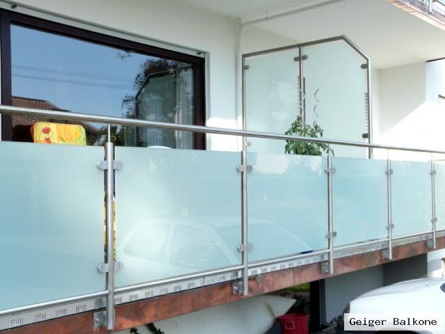 Geiger Balkone Meisterbetrieb Glasverkleidungen